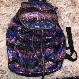 aeropostale sequin backpack